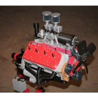 Ford Flat Head V8 Working Model Engine - 3D Printed by Eric Harrell