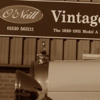 TV's Car SOS feature a Model A Ford - O'Neill Vintage Ford