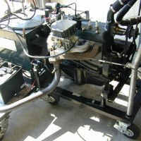 Piranio's Antique Automotives Model A Ford engine Dyno