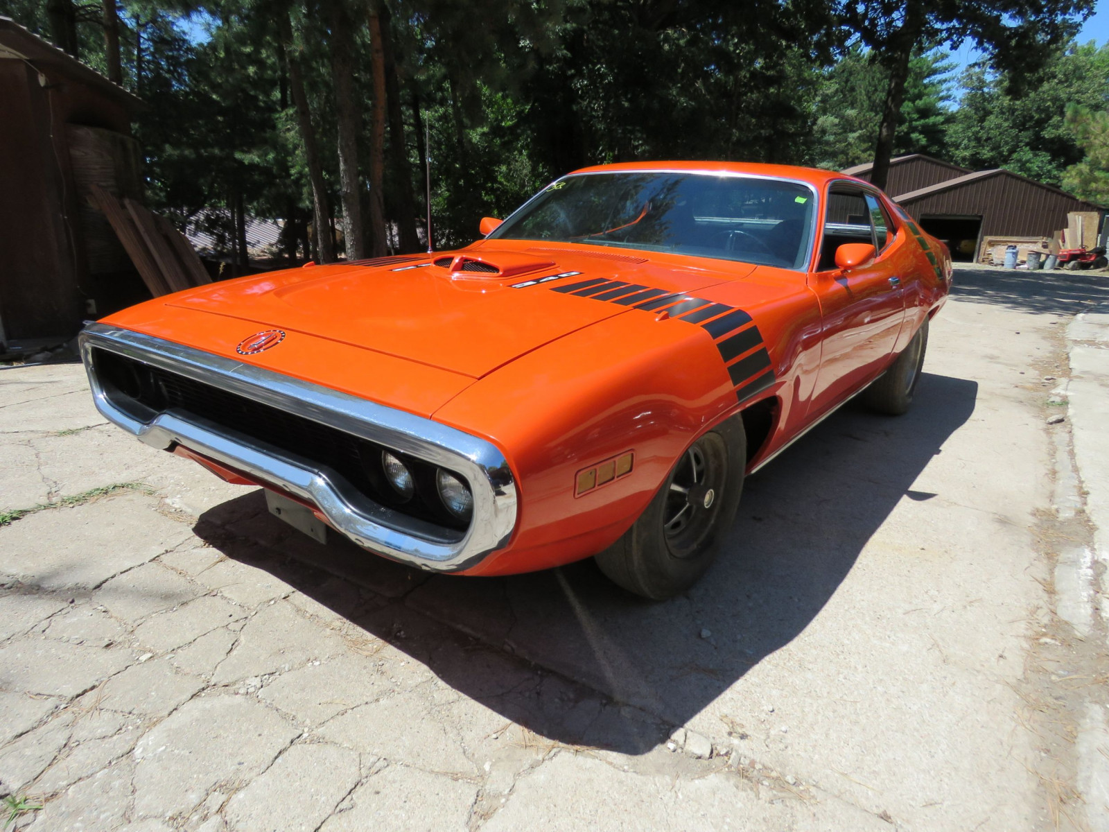 IOWA MUSCLE CAR HOARD AT AUCTION! THE COYOTE JOHNSON ...