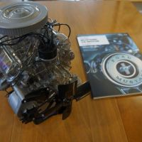 Building a (model) K-code Mustang V-8 on the dining room table - Mike Austin @Hemmings