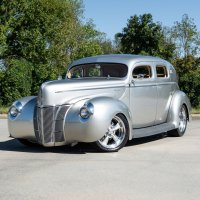 Chopped 1940 Ford Sedan Features Aston Martin Paint, Italian Leather Upholstery - Mircea Panait @Autoevolution