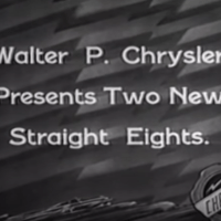 Chrysler Straight 8s in the 1930s - King Rose Archives @YouTube
