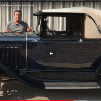 Why the Ford Model A is the best American car ever made - Paul Shinn @YouTube