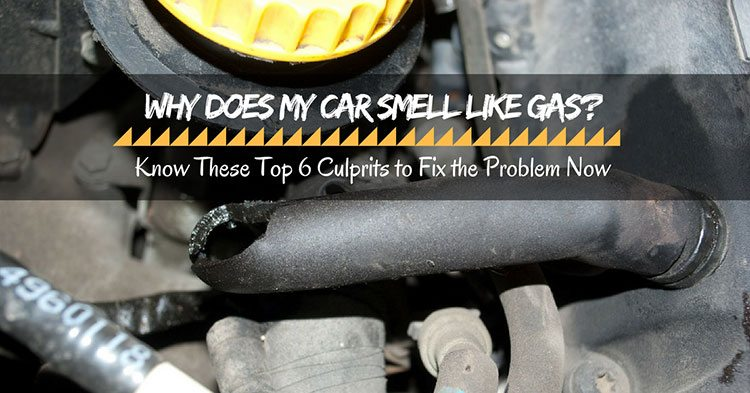 Car Smells Like Gas Inside When Parked