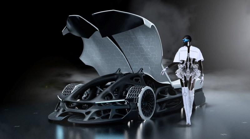 CONCEPT CAR WITH A 3D-PRINTED CHASSIS THAT 'BREATHES OXYGEN'?