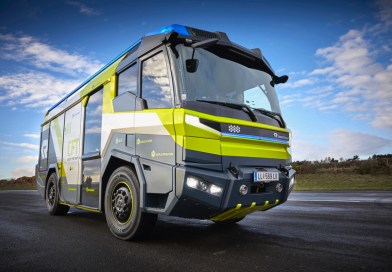 New Electric Fire Truck
