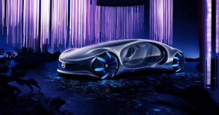 Watch! Mercedes-Benz's Avatar Electric Car Prototype