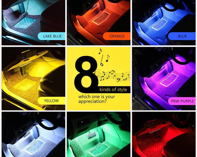 Top 10 Best Car Interior LED Lights Review
