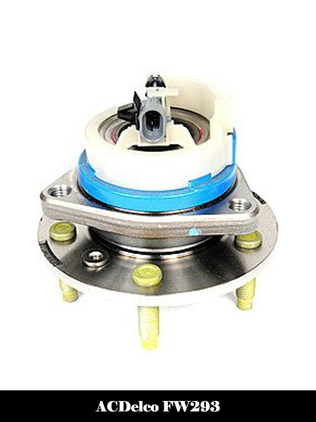 ACDelco FW293 GM Original Equipment Front Wheel Hub and Bearing Assembly with Wheel Speed Sensor and Wheel Studs-Top 10 Best Wheel Bearing Hub Assembly Reviews