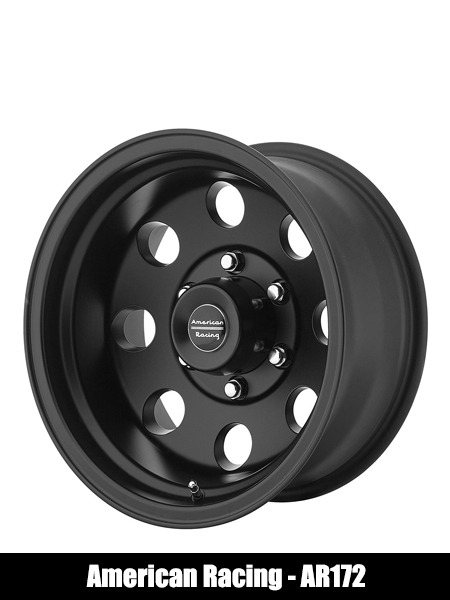 American Racing Custom Wheels AR172 Baja Satin Black Wheel - Top 10 Best Car Wheels Aftermarket Reviews