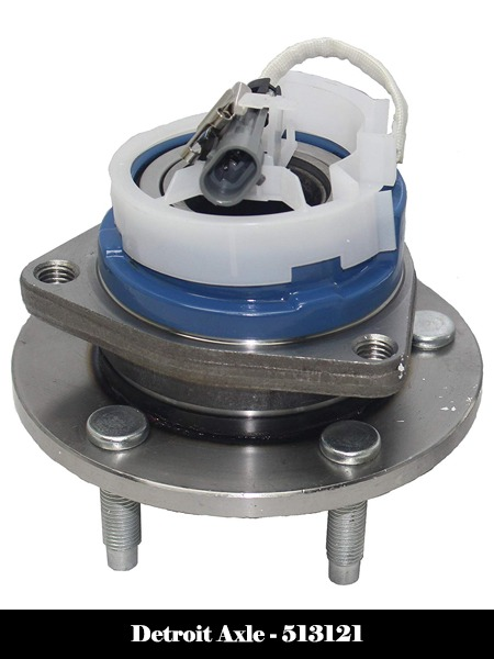Detroit Axle - Front Wheel Hub Bearing Assembly for Buick Allure Park Avenue with ABS Sensor cable - 513121 Detroit Axle-Top 10 Best Wheel Bearing Hub Assembly Reviews