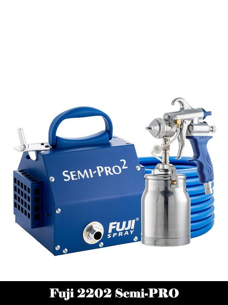Fuji 2202 Semi-PRO 2 HVLP Spray System, Blue-Top 10 Best Airless Paint Sprayers Reviews