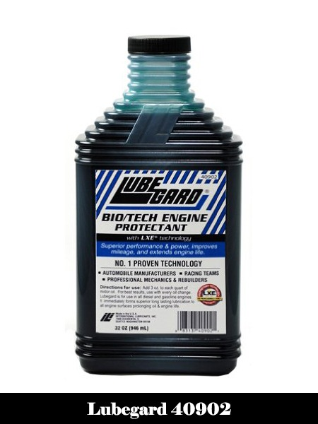 Lubegard 40902 Bio Tech Engine Oil Protectant, 32 oz-Top 10 Best Engine Flushes for Cars Reviews