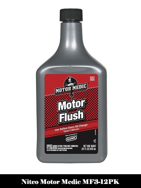 Niteo Motor Medic MF3-12PK 5-Minute Motor Flush - 32 oz, (Case of 12) -Top 10 Best Engine Flushes for Cars Reviews