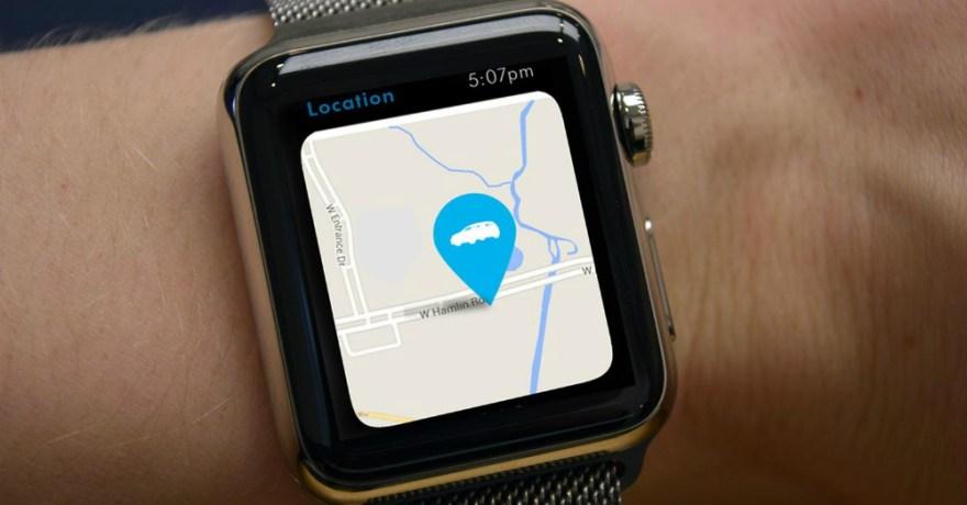 VW Car-Net App for Apple Watch