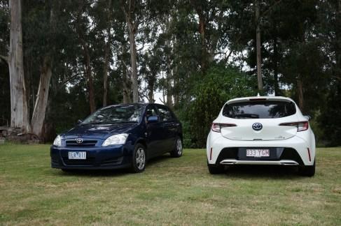 Toyota Corollas