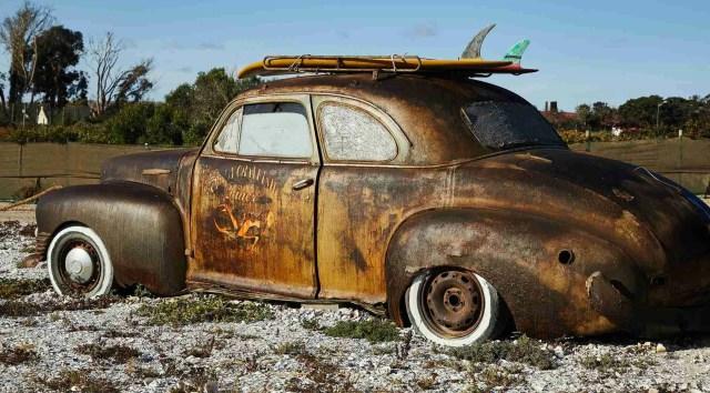 salvage car wreck