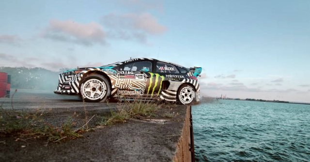 Ken Blocks Impressive Stunts