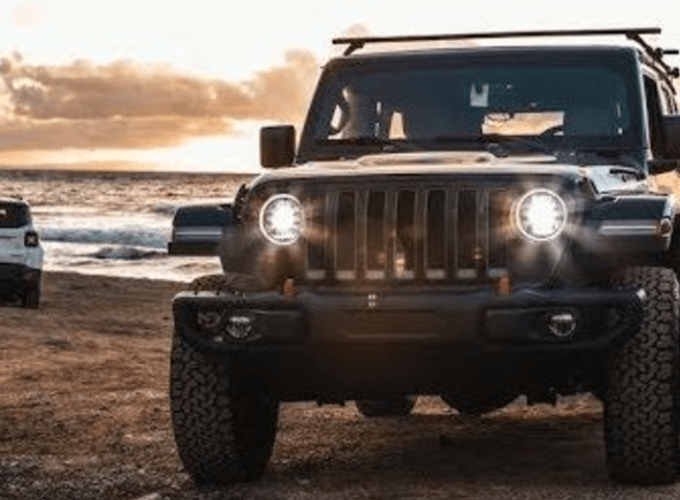California, Surfing, and Jeep; Can You Think of a Better Scene?