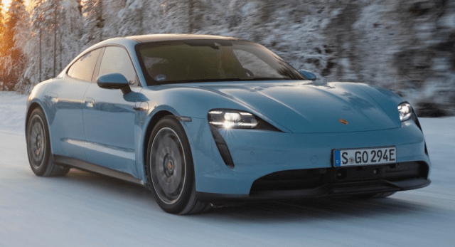 The Entry-Level Porsche Taycan is Slightly More Affordable