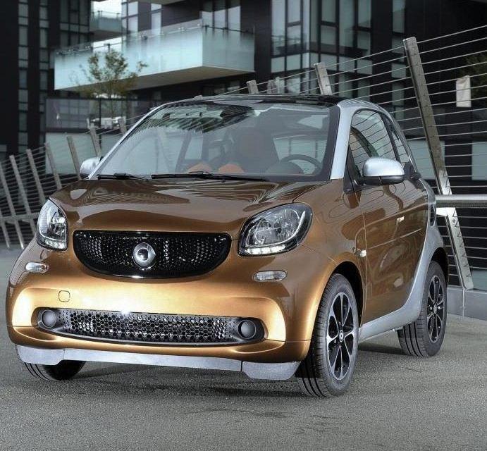 Mercedes presenta la Nuova smart fortwo