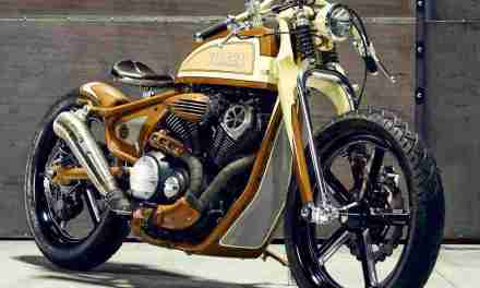 YAMAHA PRESENTA YARD BUILT XV950 'Playa del Rey' by Matt Black.