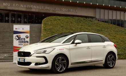 AUTO EUROPA 2016: sul podio sale la Citroën DS5