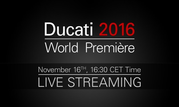 "LIVE: Ducati World Première 2016:""More than Red: Black, Wild and Pop"""