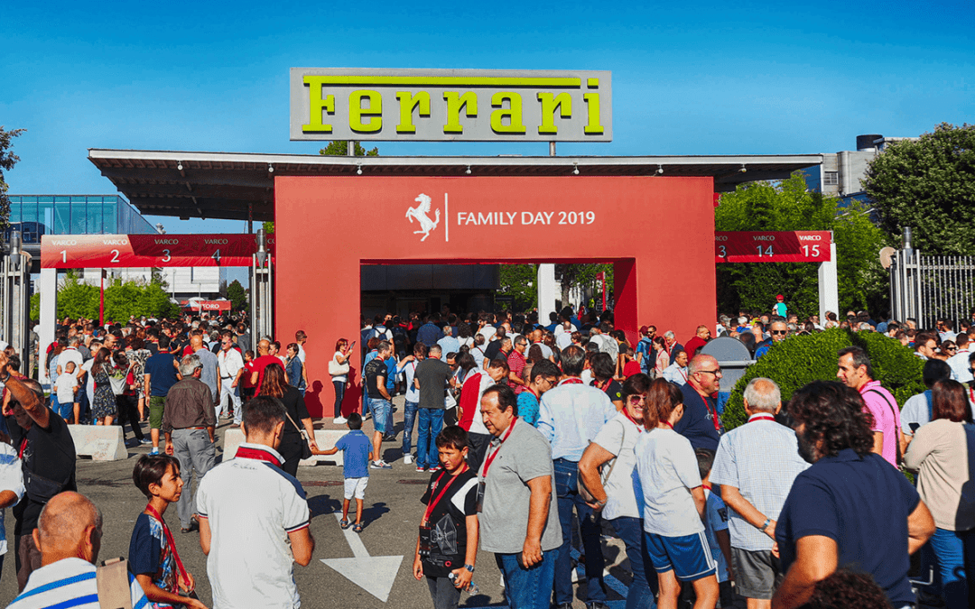 Ferrari Family Day 2019 da record