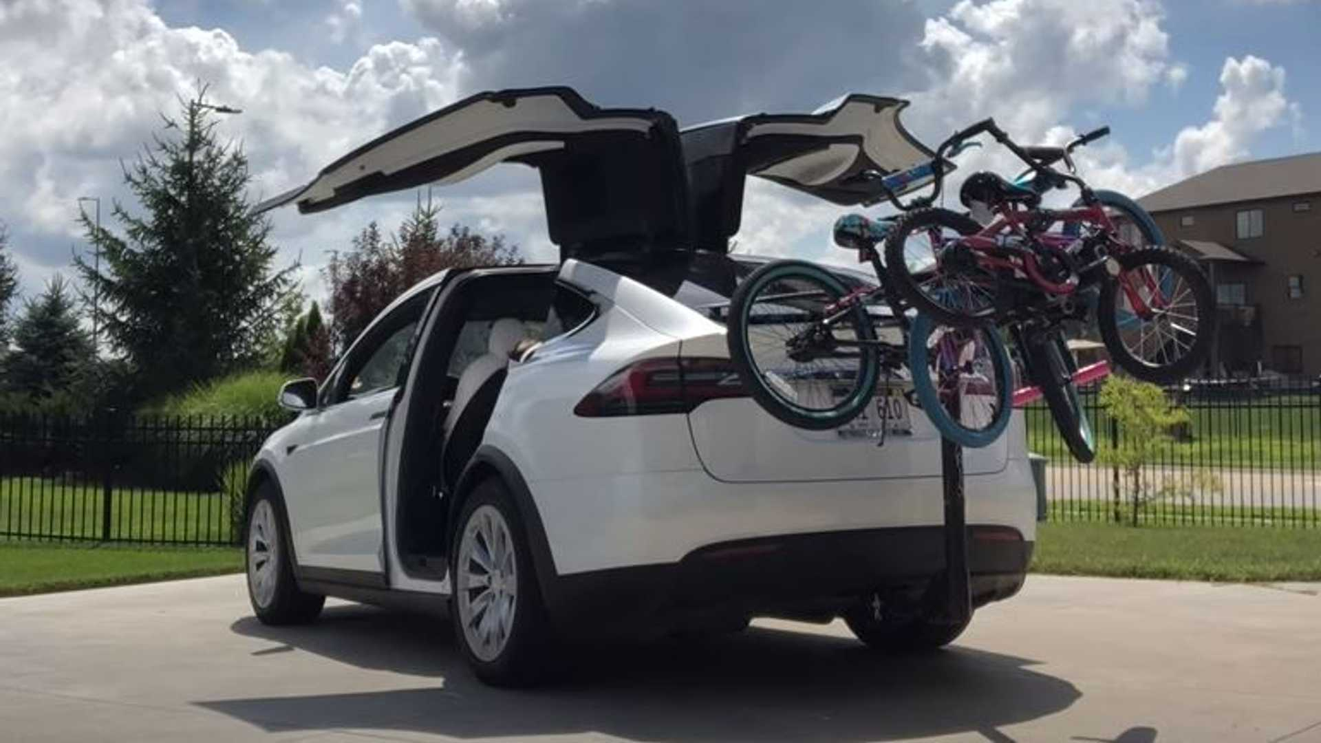 tesla model 3 with bike rack cheaper