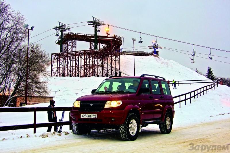 UAZ Patriot 2,3 TDi