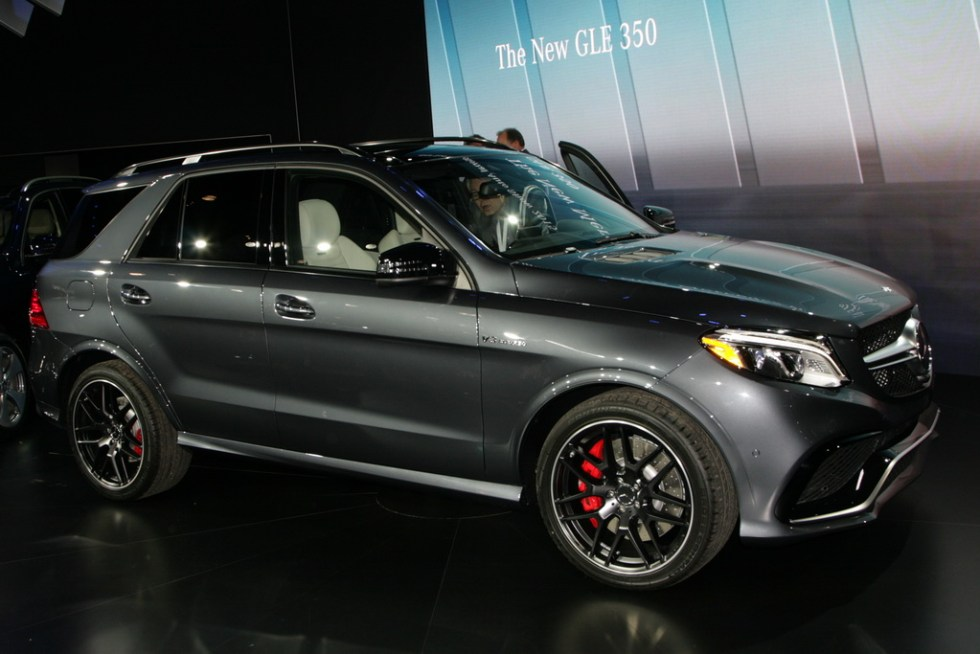 Мерседес GLE New-York Motor Show 2015