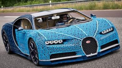 Photo of Lego construyó un Bugatti Chiron en tamaño real que se puede conducir