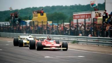 Photo of Aquella memorable batalla entre Gilles Villeneuve y Rene Arnoux