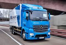 Photo of Mercedes prueba el eActros, su camión eléctrico