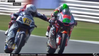 Photo of Moto2: Tarjeta roja para Romano Fenati