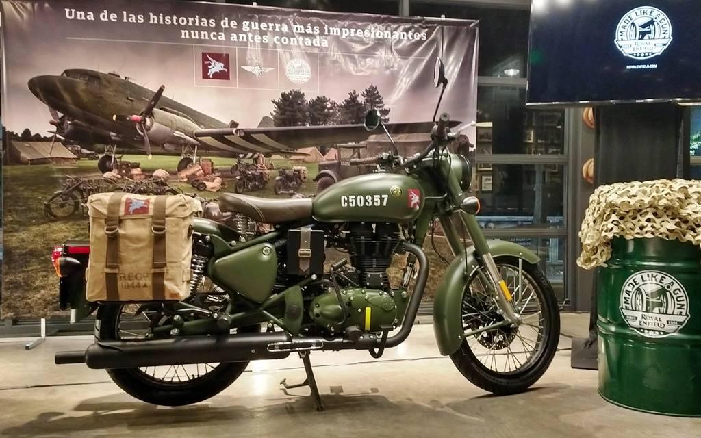 Royal Enfield Classic 500 Pegasus: Homenaje a un héroe guerra