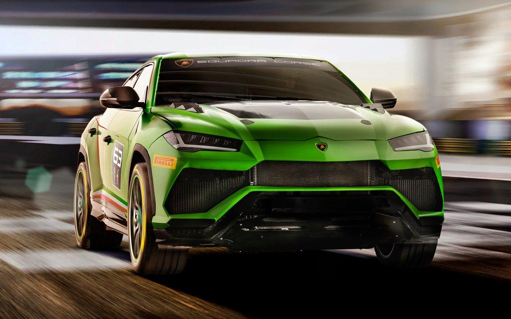 Lamborghini Urus ST-X: Un Súper SUV de carrera