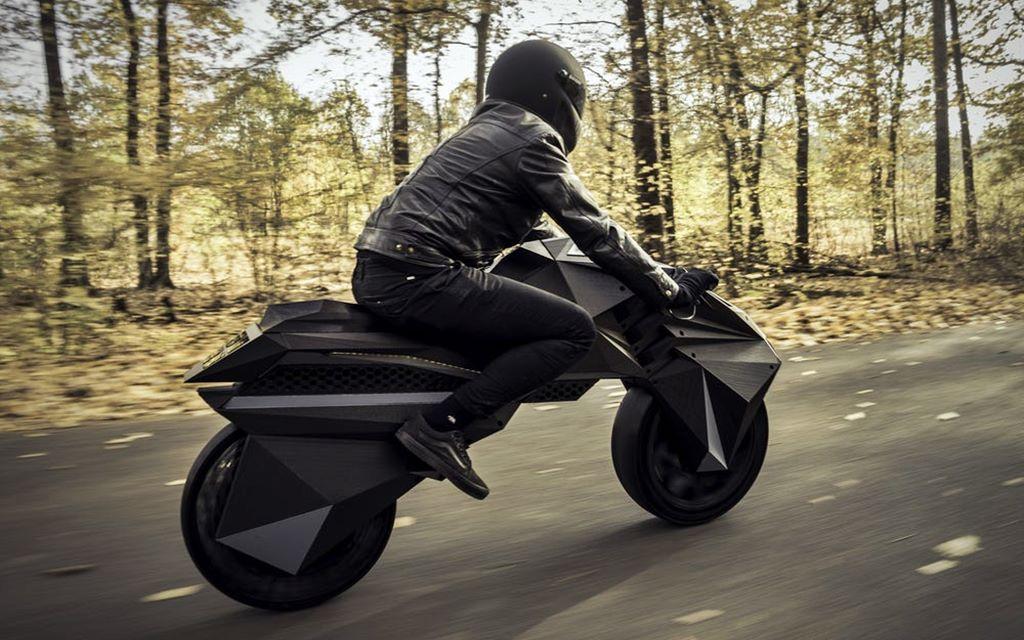 Nera, la primera moto eléctrica impresa en 3D