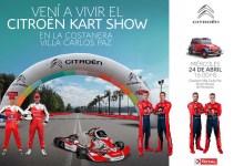 Photo of El Citroën Kart Show le pone color a la previa del Rally de Argentina