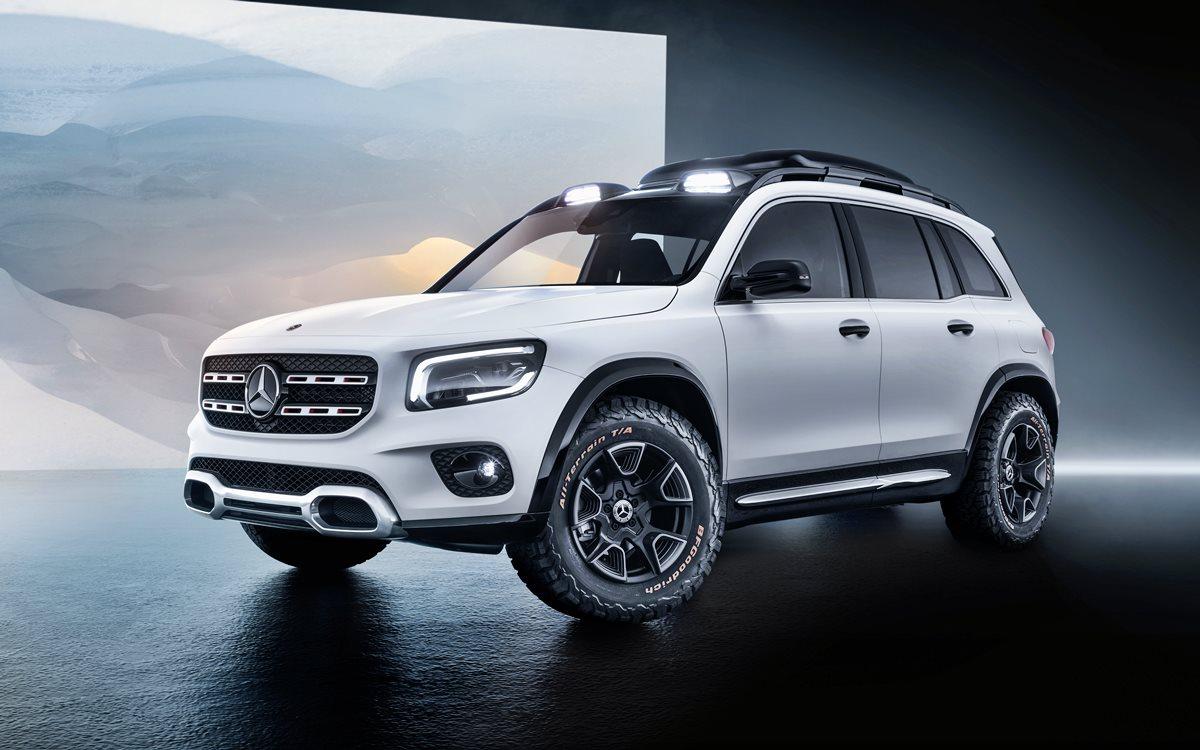 Mercedes GLB Concept: Una mirada al futuro