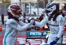 Photo of Valtteri Bottas y Lewis Hamilton logran un doblete histórico para Mercedes
