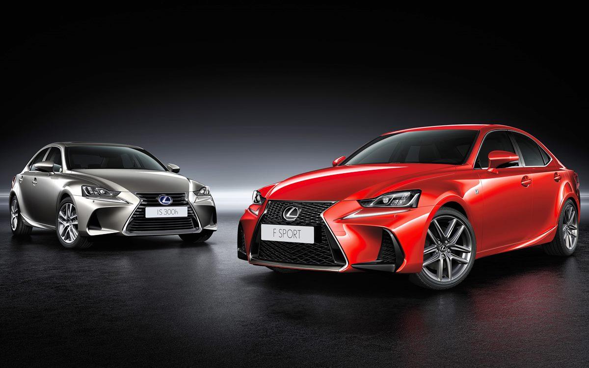 Lexus comenzó la preventa de los modelos IS y RC