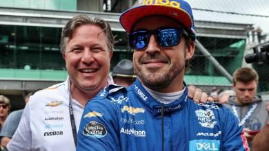 Zak Brown, el hombre detrás del fracaso de Fernando Alonso en las 500 Millas de Indianápolis