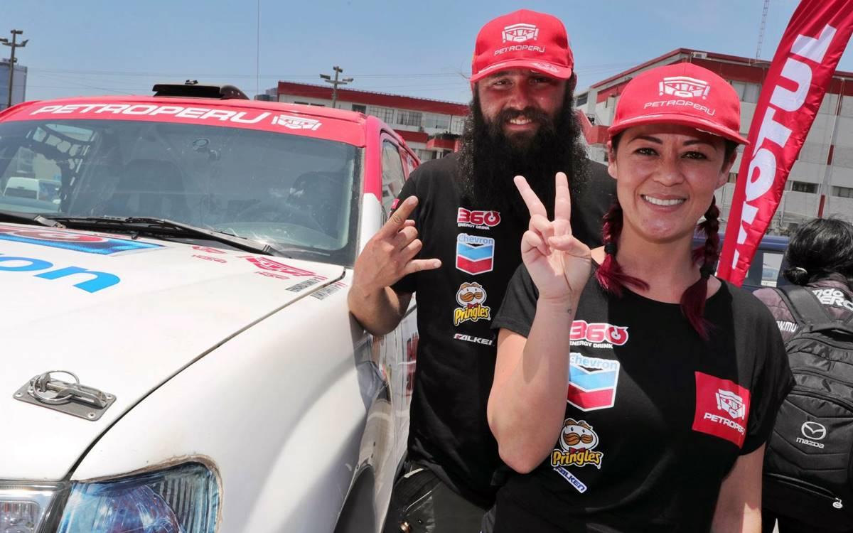 Fernanda Kanno + Alonso Carrillo: Cuando el Dakar hace a la felicidad