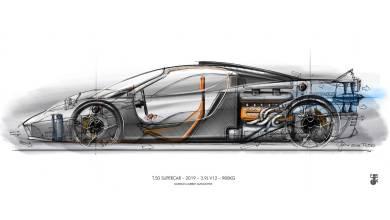 T.50: Con el espíritu de McLaren F1