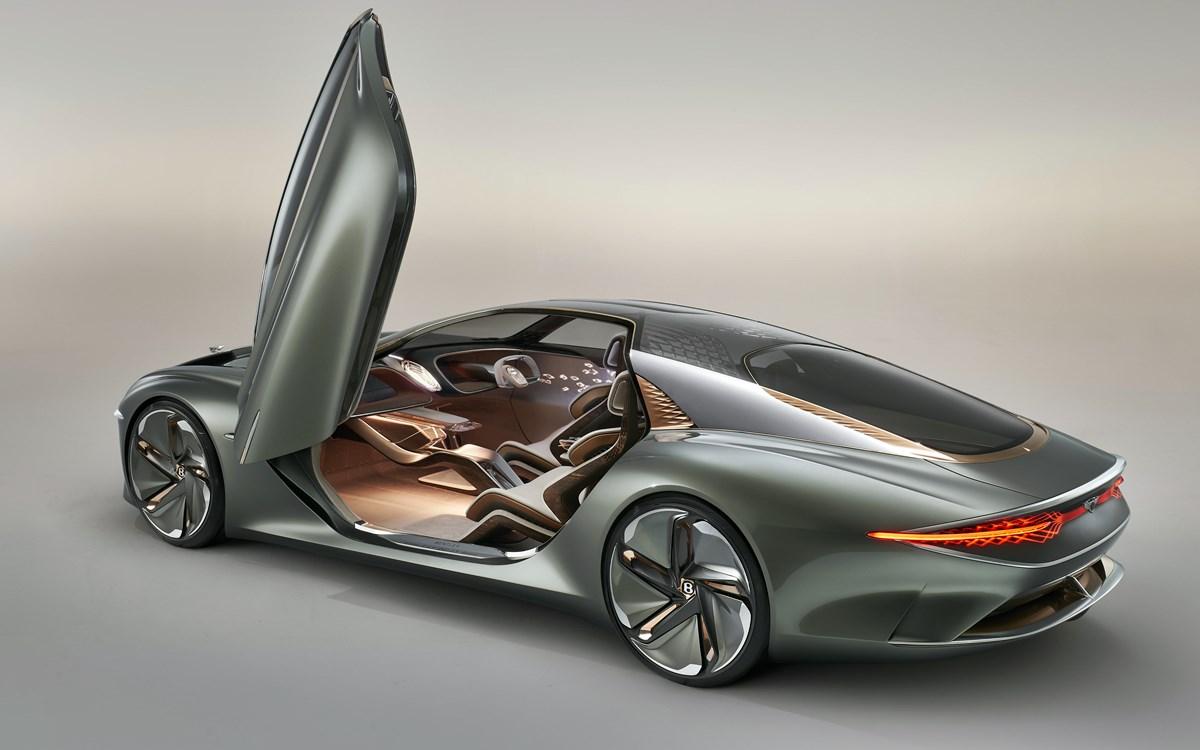 Bentley EXP 100 GT: Un futurista homenaje al pasado