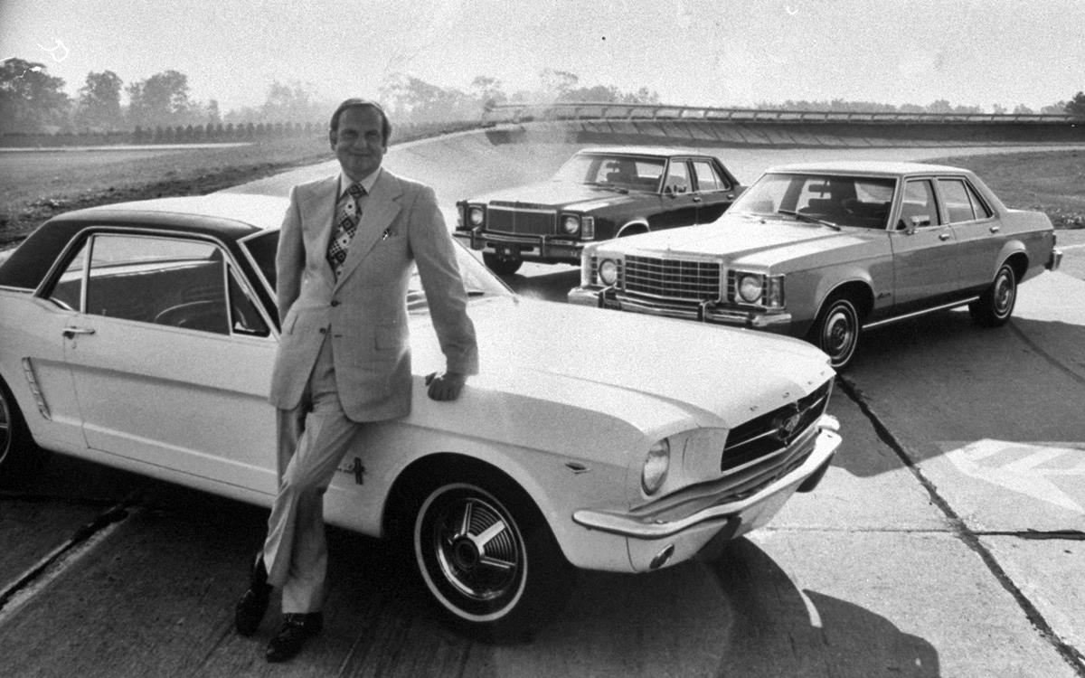 Murió Lee lacocca, el padre del Ford Mustang