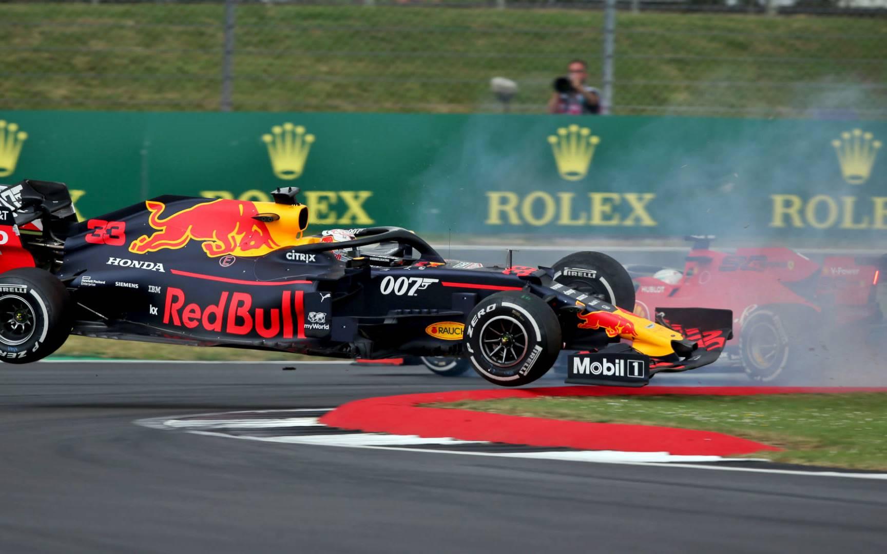 Vettel admitió su culpa en el incidente con Verstappen